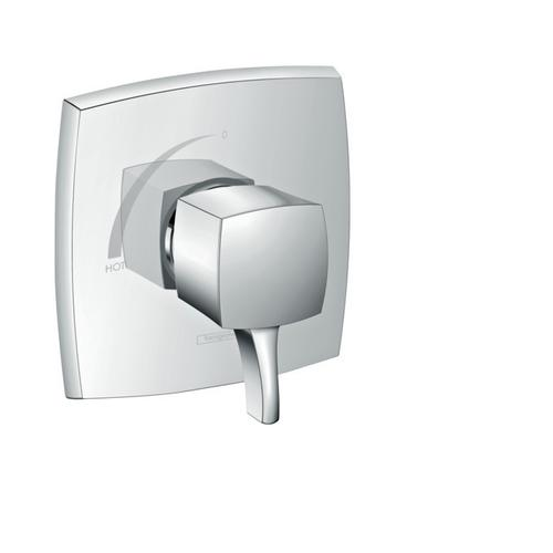 Chrome Pressure Balance Trim, Square