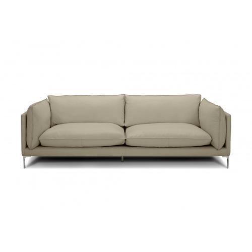 VIG Furniture - Divani Casa Harvest - Modern Taupe Full Leather Sofa