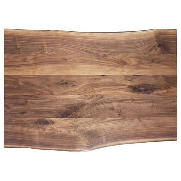 "See Details - Crotch Walnut 54"" Desk Top"