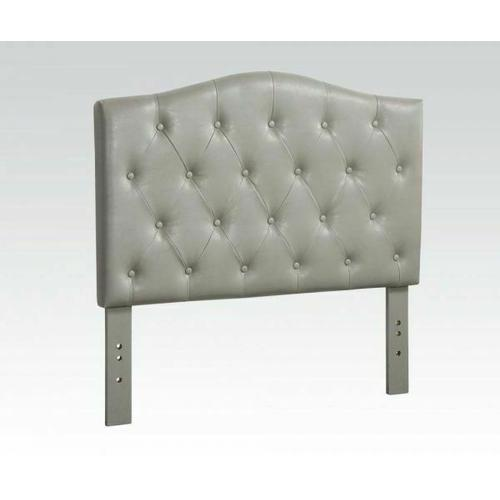 ACME Viola Queen Headboard Only - 39131Q - Gray PU