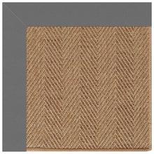 "View Product - Islamorada-Herringbone Canvas Charcoal - Rectangle - 24"" x 36"""