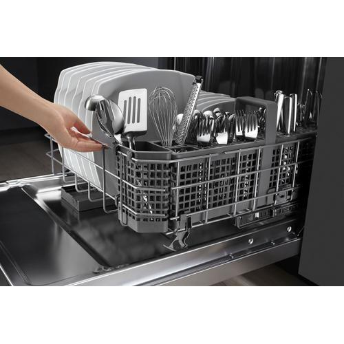 Gallery - 44 dBA Dishwasher with Dynamic Wash Arms Stainless Steel