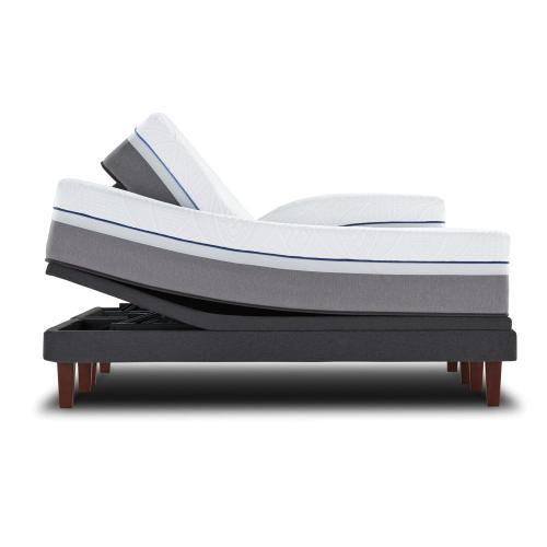 Posturepedic Premier Hybrid Series - Silver - Plush - Queen