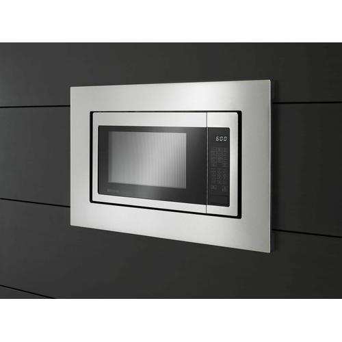 KitchenAid - 30 in. Microwave Trim Kit for 1.6 cu. ft. Countertop Microwave Oven - Stainless Steel