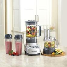 See Details - VELOCITY Ultra Trio 1 HP Blender/Food Processor with Travel Cups