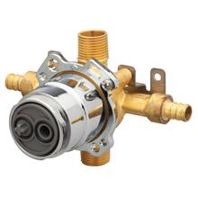 New - Treysta® Tub & Shower Valve- Horizontal Inputs Without Stops- Crimp Pex
