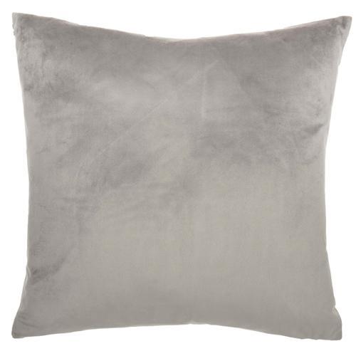 """Luminescence Et139 Lt Grey 20"""" X 20"""" Throw Pillow"""