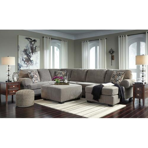 Jinllingsly III Sectional Right Gray