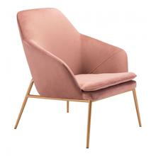 Debonair Arm Chair Pink & Gold