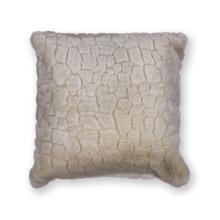 "Pillow L253 Ivory Bedrock 20"" X 20"""