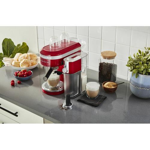 KitchenAid Canada - Metal Semi-Automatic Espresso Machine - Empire Red