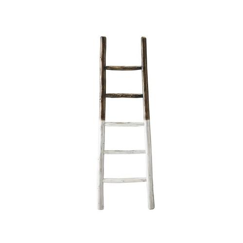 Blanket Ladder - French Roast \u0026 White Finish