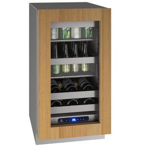 "U-LineHbv518 18"" Beverage Center With Integrated Frame Finish and Field Reversible Door Swing (115 V/60 Hz Volts /60 Hz Hz)"