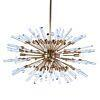 See Details - Goliath Star Small Chandelier in Antique Brass