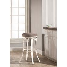 View Product - Kelford Backless Counter Stool - White