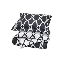 Metro Terrace Charcoal 3Pc Queen Set