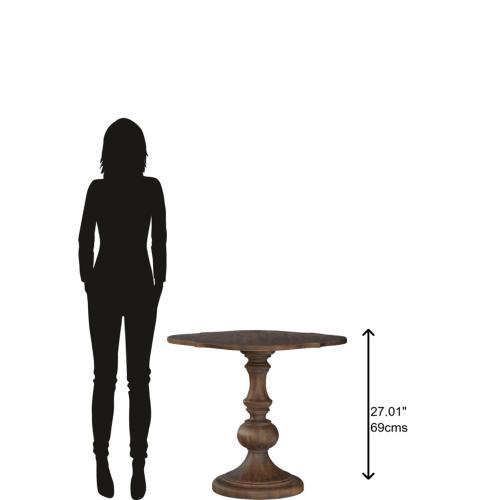 Hekman - 1-6104 Napa Valley Round Pedestal Lamp Table