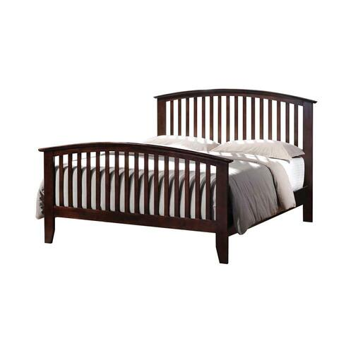 Tia Cappuccino King Bed