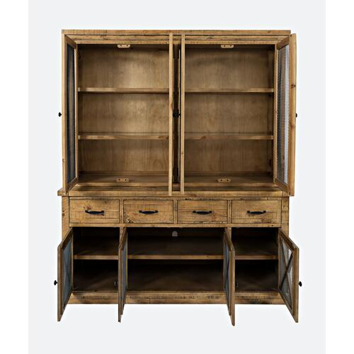 Telluride Hutch Server W/light