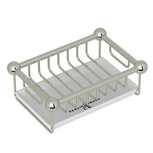 Free Standing Soap Basket - Polished Nickel