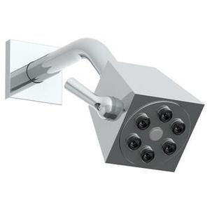 "Wall Mounted Showerhead, 2 3/4""dia, With 6"" Arm and Flange Product Image"