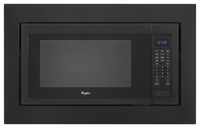 Whirlpool30 In. Microwave Trim Kit Black