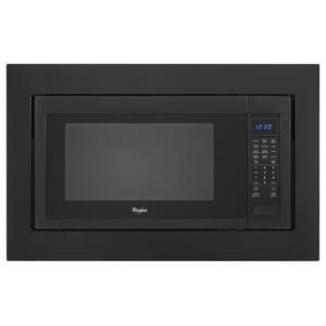 Whirlpool30 in. Microwave Trim Kit Black