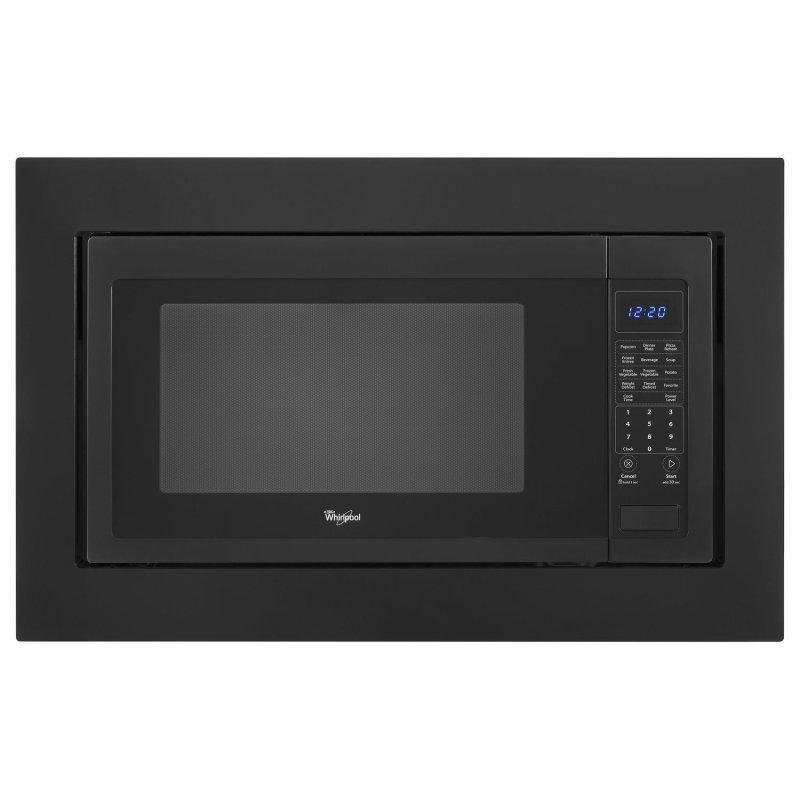 30 in. Microwave Trim Kit Black