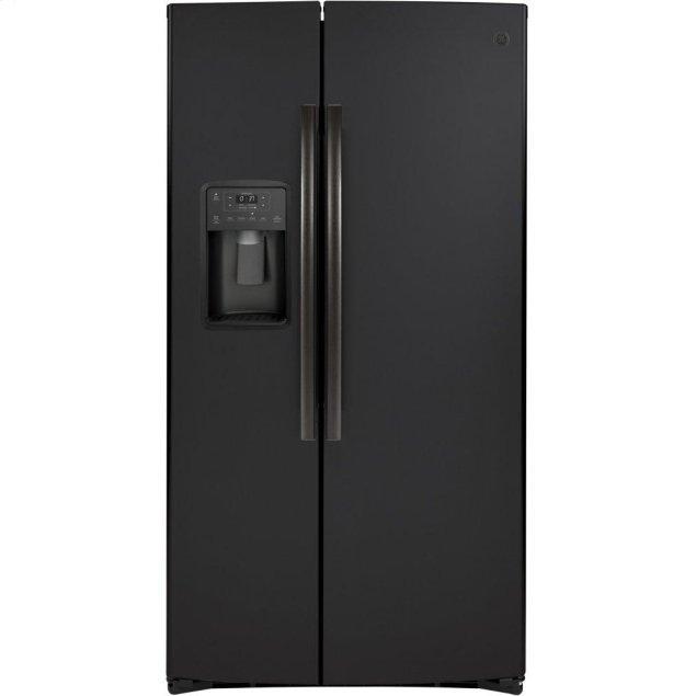 GE GE® 21.8 Cu. Ft. Counter-Depth Side-By-Side Refrigerator