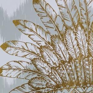 Gold Foil War Bonnet- Large
