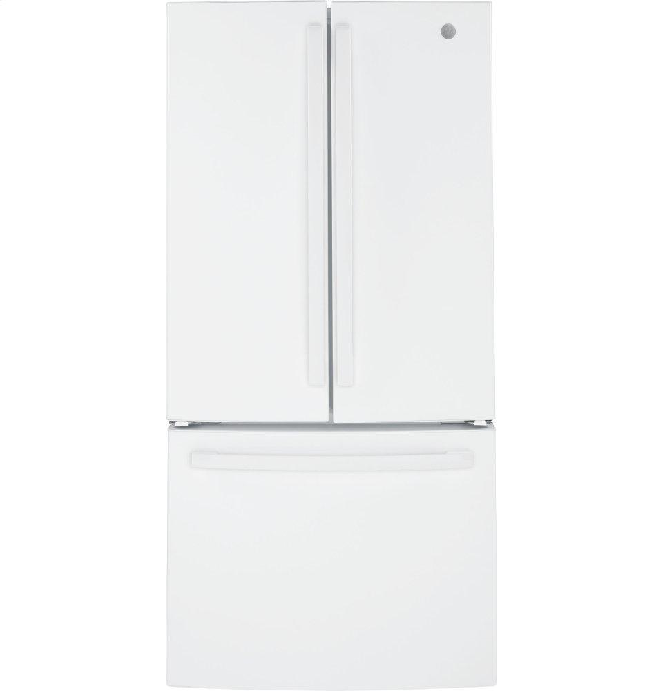 GEEnergy Star® 18.6 Cu. Ft. Counter-Depth French-Door Refrigerator