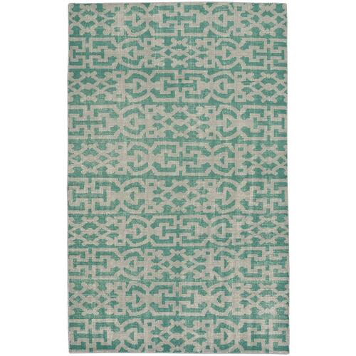 "Gallery - Vintage-Keeneland Green - Rectangle - 3'6"" x 5'6"""
