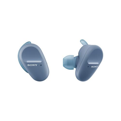 Gallery - Truly Wireless In-ear Sports Headphones with Microphone - Blue