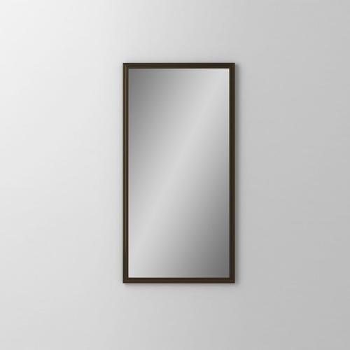 "Main Line 19-1/8"" X 39-7/8"" X 1-5/8"" Rosemont Framed Mirror In Brushed Bronze"