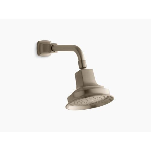 Vibrant Brushed Bronze 2.5 Gpm Single-function Showerhead With Katalyst Air-induction Technology