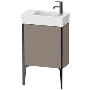 Vanity Unit Floorstanding, Basalt Matte (decor)