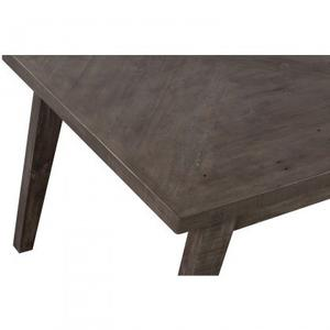 Laval Dining Table Grey Finish