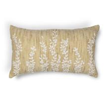 "L216 Beige Vines Pillow 12"" X 20"""