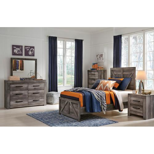 Wynnlow Bedroom Mirror Gray