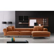 See Details - Divani Casa 1004 Modern Top Leather Sectional Sofa