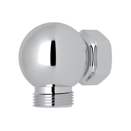 Polished Chrome Perrin & Rowe Swivel Outlet And Connector For Exposed Shower Valves