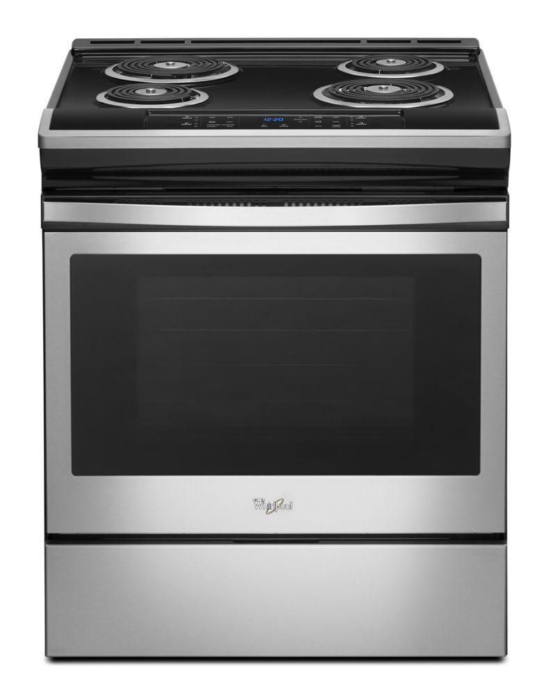 Whirlpool4.8 Cu. Ft. Guided Electric Front Control Coil Range