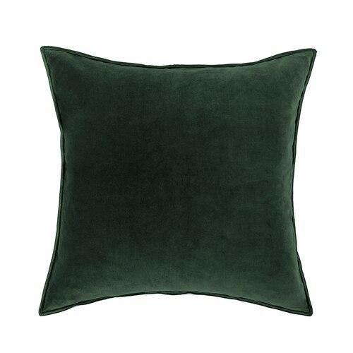 Sloane Kale Velvet Pillow