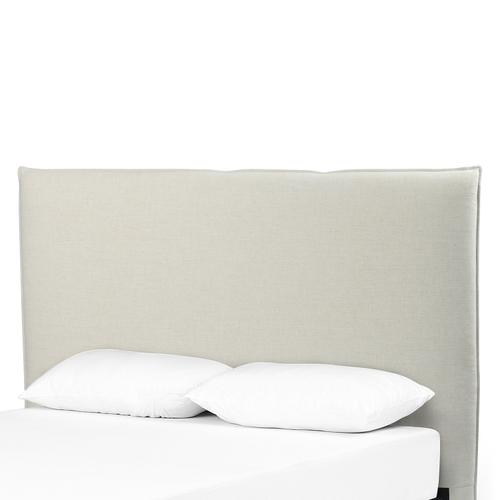 Queen Size Savile Flax Cover Junia Headboard