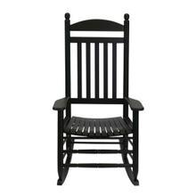 See Details - 200S Slat Seat Rocker in Black Matte