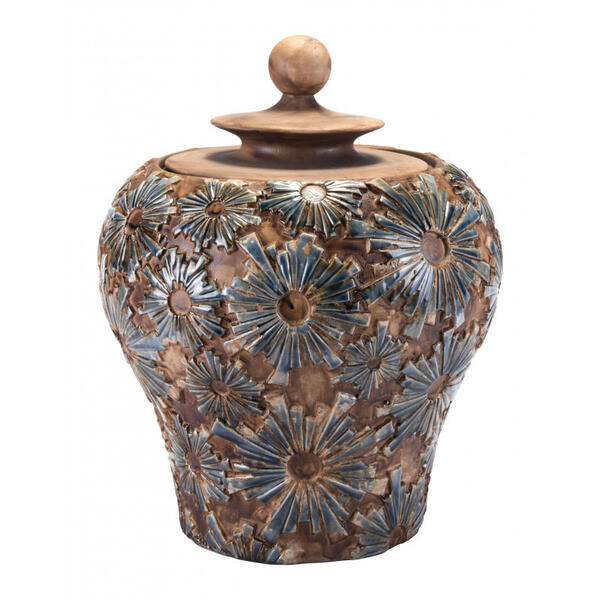 Small Cusco Temple Jar Brown