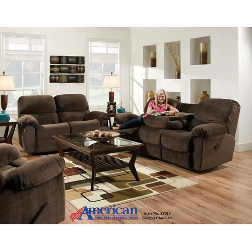 AF310 - Sharpei Chocolate Sofa