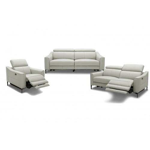 VIG Furniture - Divani Casa Eden - Modern Grey Leather Sofa Set