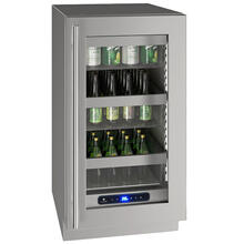 "Hre518 18"" Refrigerator With Stainless Frame Finish (115 V/60 Hz Volts /60 Hz Hz)"