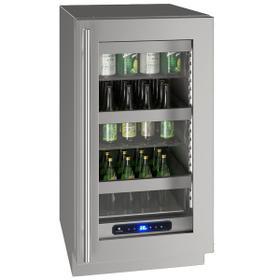 "Hre518 18"" Refrigerator With Stainless Frame Finish (115 V/60 Hz Volts /60 Hz Hz)"